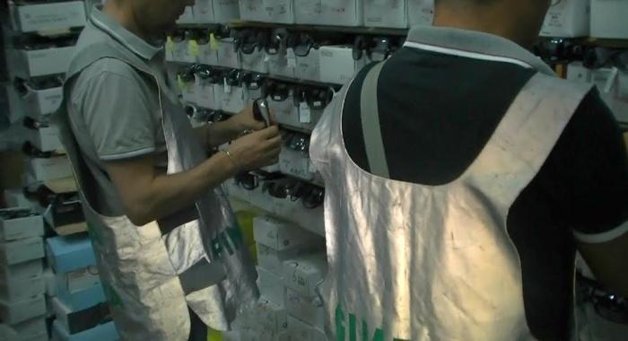 A Catania la Guardia di Finanza sequestra oltre 5.000 articoli contraffatti