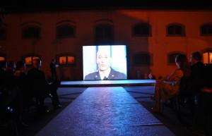 La presentazione di Luca parmitano