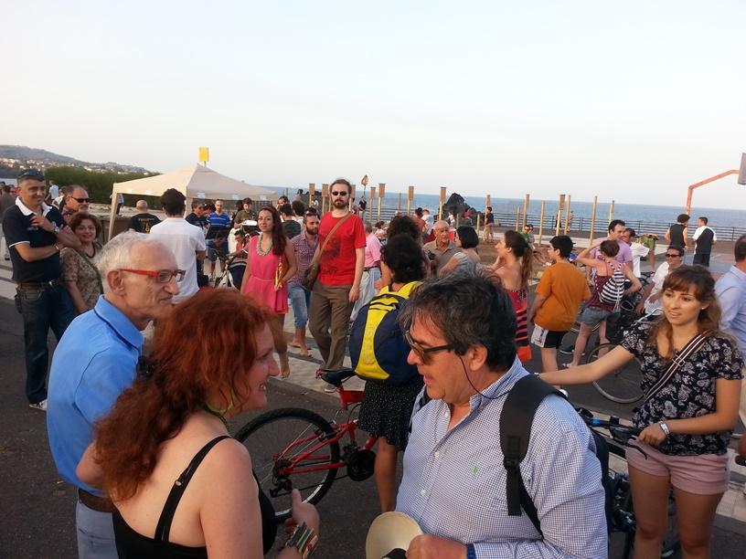 Lungomare Catania:chiusura serale dalle 17
