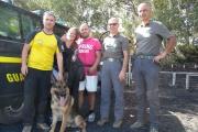 Guardia di Finanza, Catania. Operazione di soccorso sull'Etna,  recuperati due escursionisti olandesi dispersi