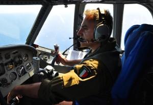 Approccio del Pilota Atlantic allimbarcazione avvistata