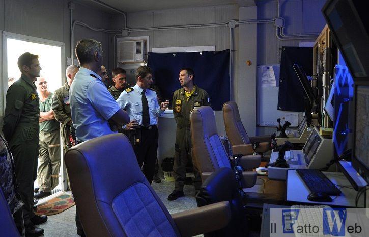 Sigonella: Hangar Predator e Global Hawk convergenza operativa al 41° Stormo