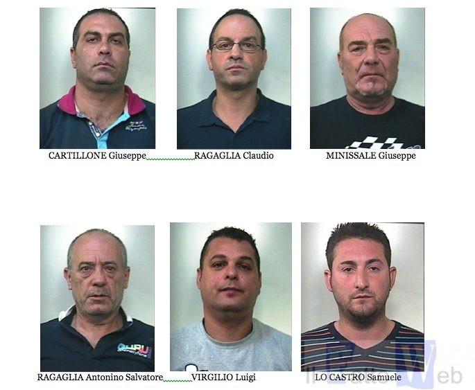 """Associazione stampo mafioso, furto, estorsione, usura e sequestro:Otto Arrestati del clan """"Laudani"""""""