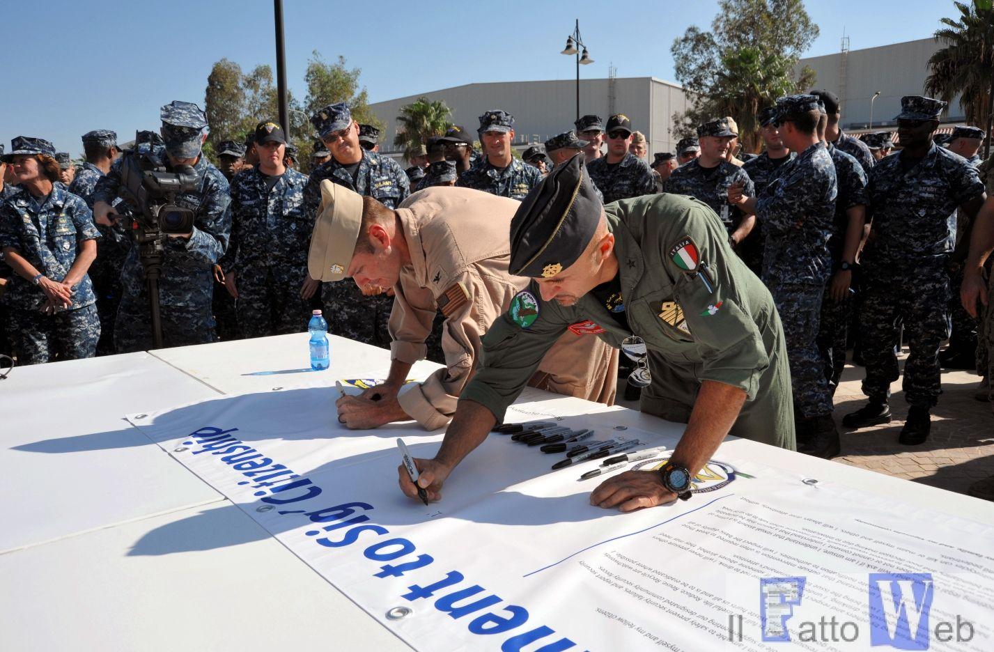 "Protocollo d'intesa "" Cittadino Modello "" 41° Stormo e U.S. Naval Air Station"