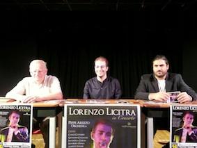 """""""Lorenzo Licitra, in concerto"""" al Teatro Tenda di Ragusa"""