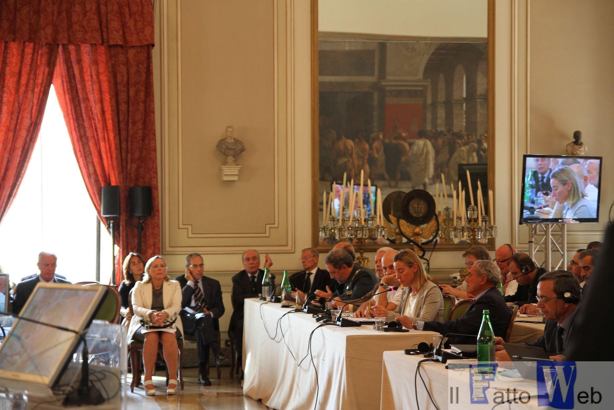 Sindaco Enzo Bianco: discorso di insediamento al vertice Nato a Catania