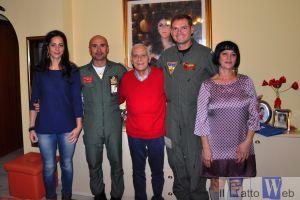 La Famiglia Gennaro insieme al Col. Sicuso e il Capt. Dennis