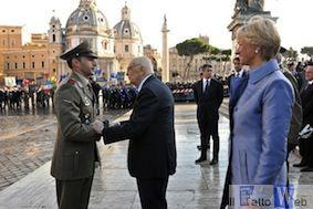 Militare catanese riceve  la Medaglia d'Oro al Valor  Militare