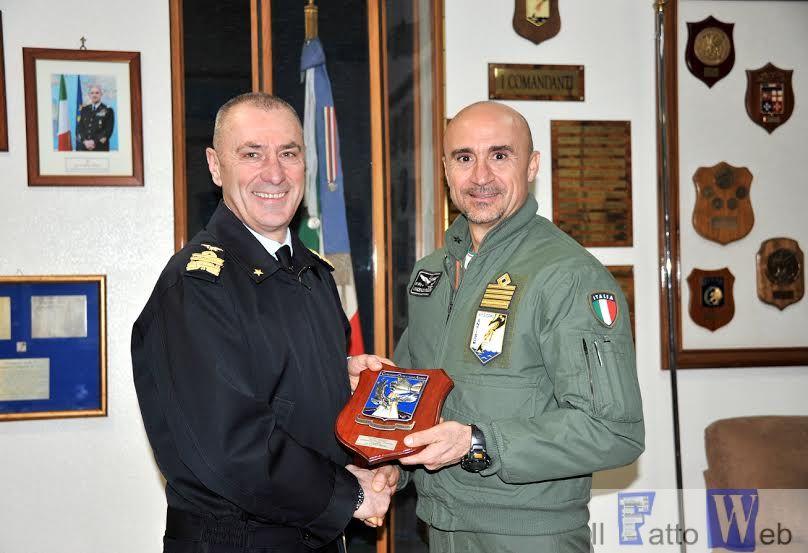 Il Generale Nordio in visita alla Base Aerea di Sigonella sede del 41° Stormo Antisom