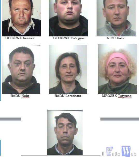 """Operazione """"Slave"""": Racket della manodopera straniera. Arrestate dai CC 7 persone"""