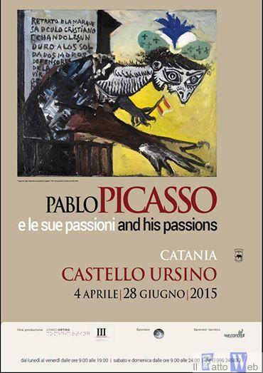 Al Castello Ursino di Catania si apre la mostra Picasso e le sue passioni