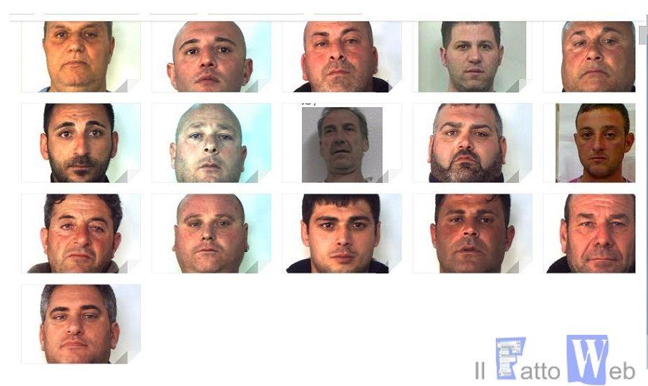 """""""Operazione en plein"""", 16 arresti per associazione mafiosa, omicidio e tentato omicidio"""