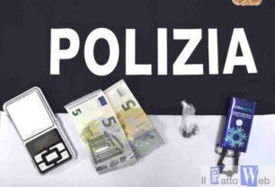 La Polizia di Stato di Ragusa arresta a Piazza San Giovanni spacciatore senza scrupoli