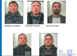 """Commando assalta la filiale """"Unicredit"""" di Trecastagni (CT):  Arrestati i 5 componenti della banda."""