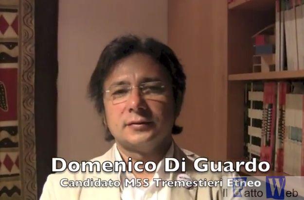 """Domenico Di Guardo """"Mi presto"""" a Tremestieri (Ct)"""