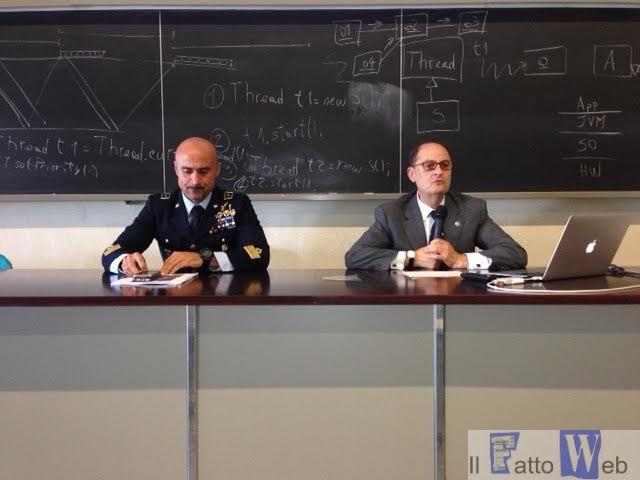 """All'università si parla di """"Disorientamento Spaziale"""" con il comandante del 41° Stormo"""