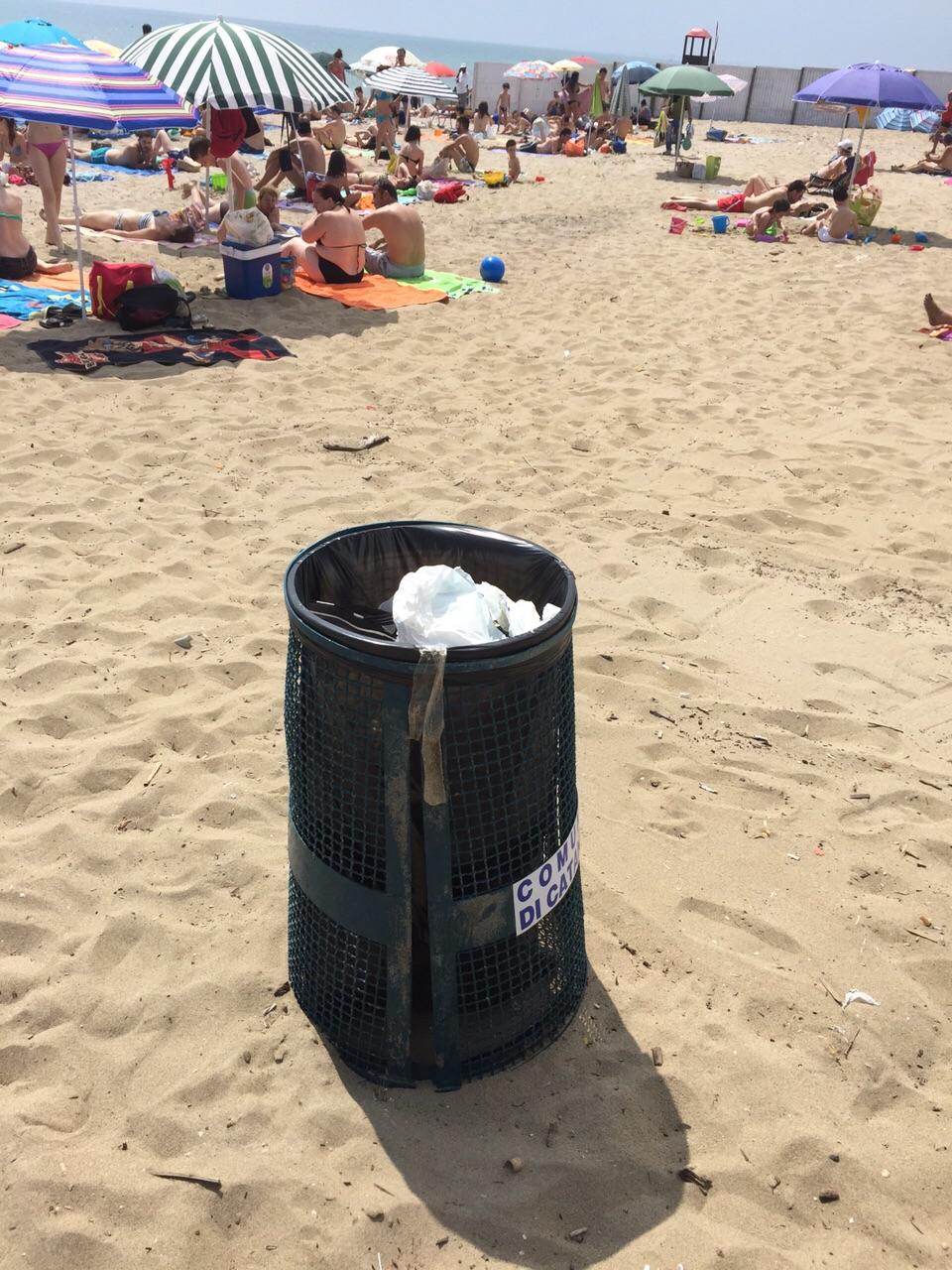 Spiaggia libera n. 3 – La sabbia è pulita. Attivo il piano dei Vigili Urbani