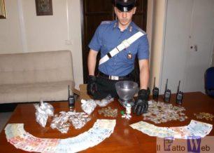 I Carabinieri arrestano cinque spacciatori in via Pantelleria