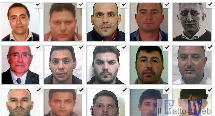 Operazione Enigma – Foto  e Nomi degli arrestati