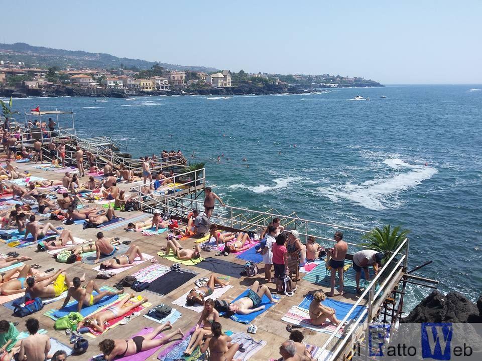 Un'estate al mare…ma quest'anno senza i solarium di piazza Europa e del Nautico