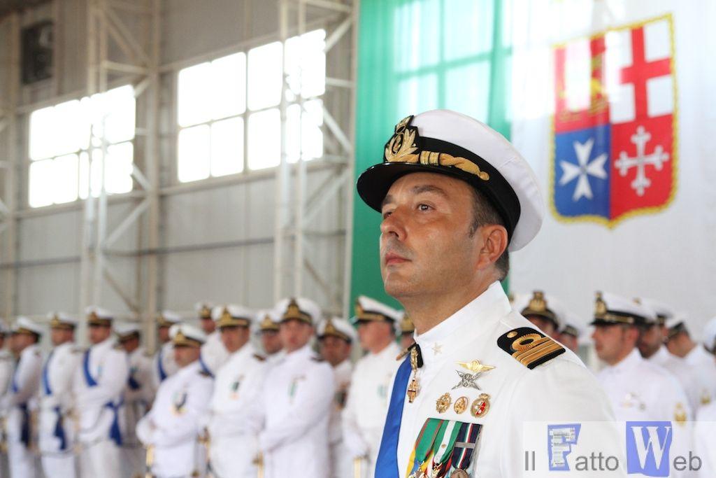 2º Nucleo Aereo Guardia Costiera il Cap. di Fregata Roberto D'Arrigo il nuovo Comandante