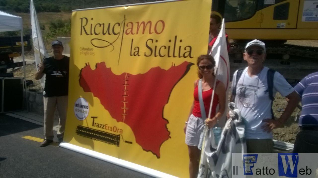 """La """" Regia Trazzera"""" ricuce la Sicilia – Video dal cantiere di Caltavuturo"""