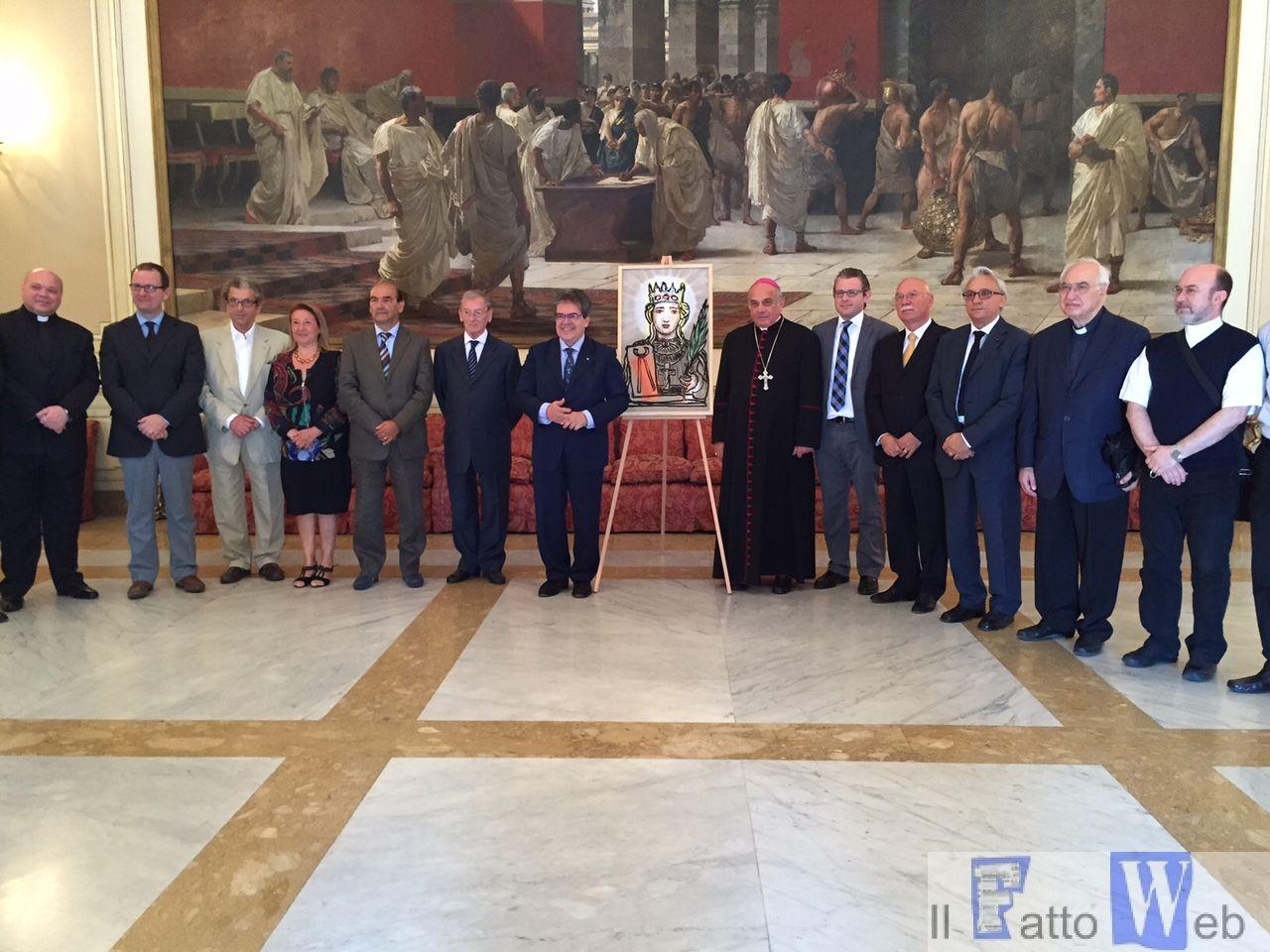 Festa Sant'Agata: Marano presidente, Maina presidente onorario