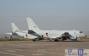 Transito a Sigonella velivolo P1 Marina Giapponese (7)