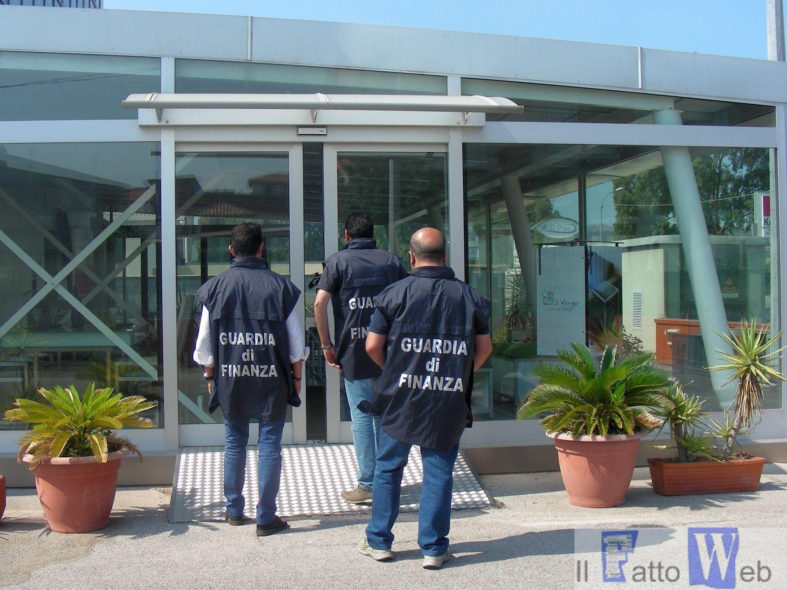 CATANIA: SEQUESTRATI BENI PER OLTRE 3 MILIONI DI EURO NEI CONFRONTI DI TRE SOCIETÀ DEL GRUPPO D'ARRIGO