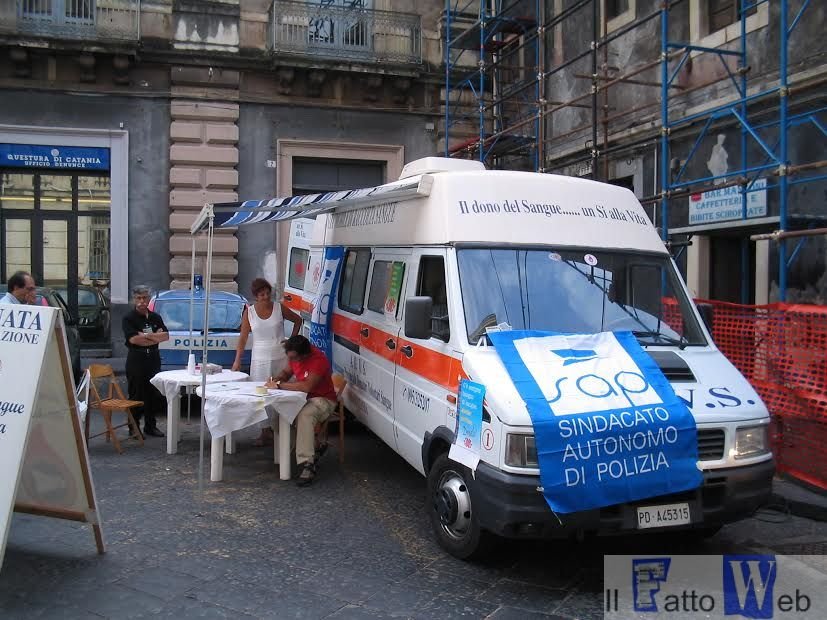 """Beppe Montana e Giovanni Lizzio: Sap, """"Doniamo il sangue per non dimenticare"""""""