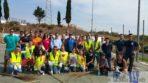 Militari americani di Sigonella e volontari italiani uniscono le forze a Librino per il ripristino degli spazi esterni di Villa Fazio