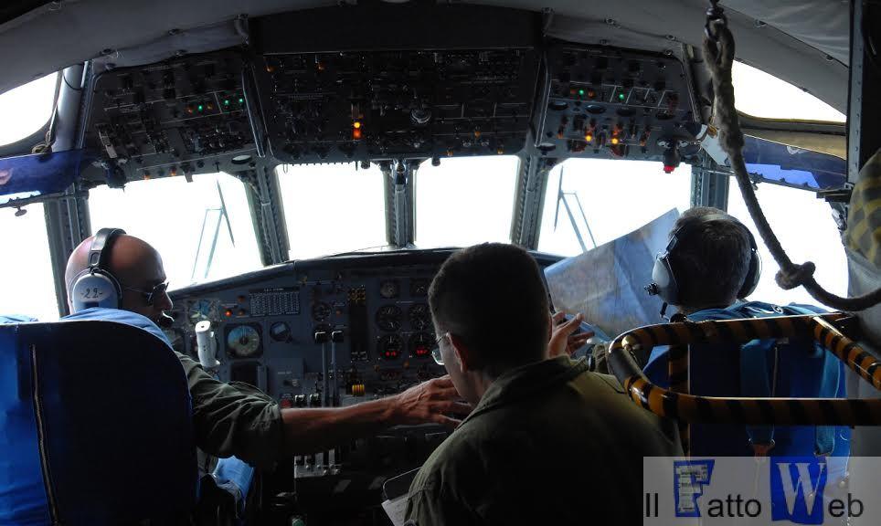 La cabina di pilotaggio