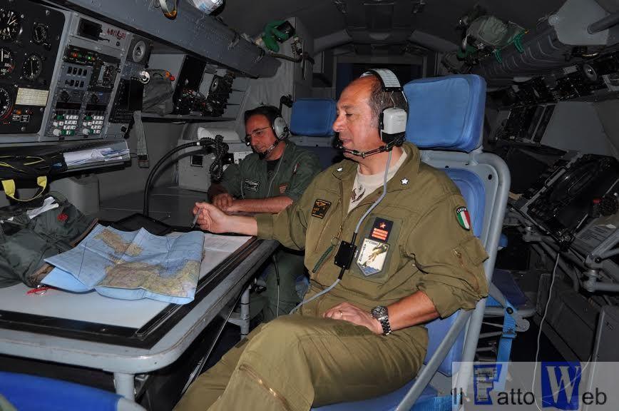 Operatori a lavoro sull'Atlantic 2