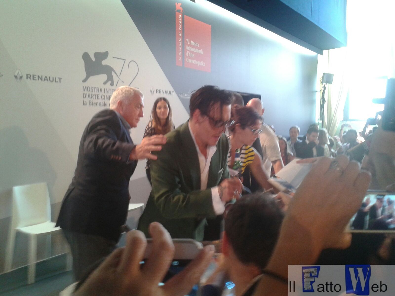 La 72^ Mostra d'arte cinematografica di Venezia è entrata nel vivo