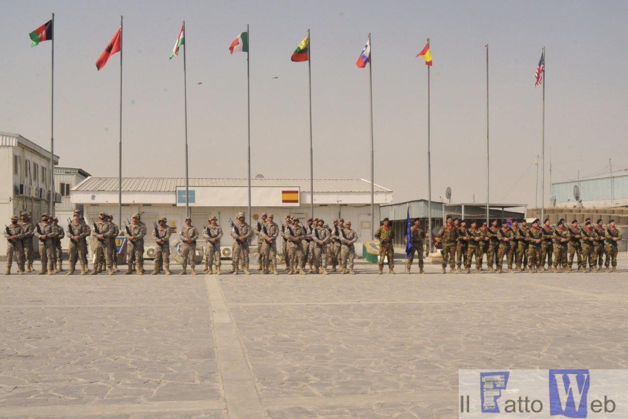 """AFGHANISTAN:  IL 5° REGGIMENTO FANTERIA """"AOSTA"""", HA ASSUNTO LA RESPONSABILITÀ  DELLA SICUREZZA DELLA BASE DI HERAT"""