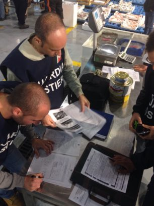 Capitaneria di Porto di Catania – Controlli sulla filiera di pesca