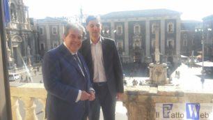 Il sindaco Bianco ha ricevuto in Municipio il neo assessore al Turismo Barbagallo