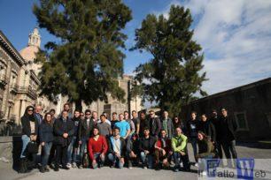 MARINES E STUDENTI DELL'UNIVERSITA' CONDIVIDONO UN PROGETTO DI VOLONTARIATO AL MONASTERO DEI BENEDETTINI DI CATANIA