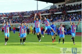 Catania-Paganese 3-0. Il risveglio dei leoni