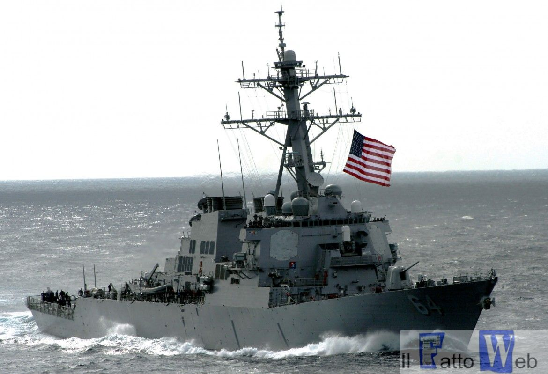 """Il progetto di volontariato natalizio dei militari americani imbarcati presso la USS Carney presso la """"Regina Pacis Onlus"""""""