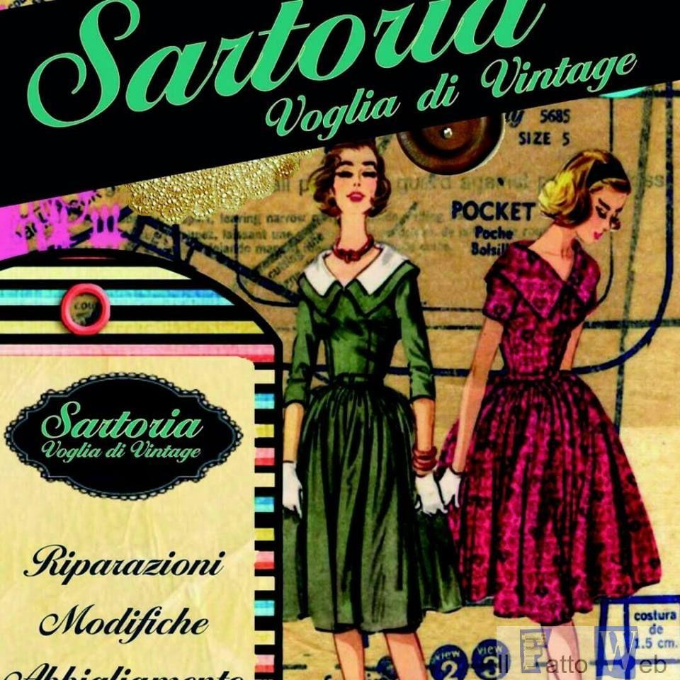 """Nasce a Catania la Sartoria """"Voglia di Vintage"""", una boutique di stile e d'eleganza"""