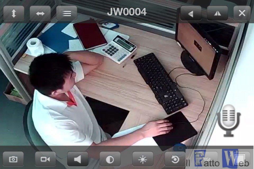 Via Antonino di Sangiuliano Catania: video-riprendeva i dipendenti senza autorizzazione