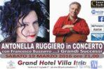 A Villa Itria di Viagrande Antonella Ruggiero in concerto con Francesco Buzzurro