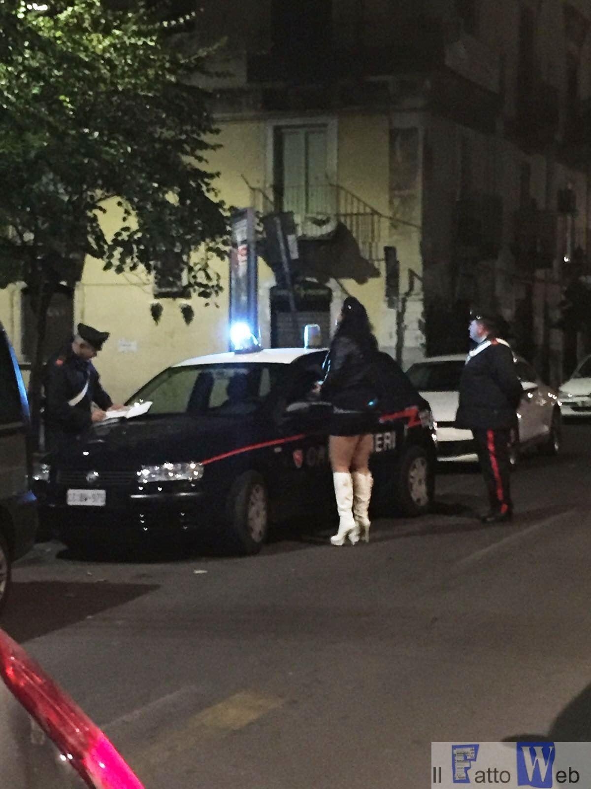Contrasto alla prostituzione, continuano i servizi dei   Carabinieri