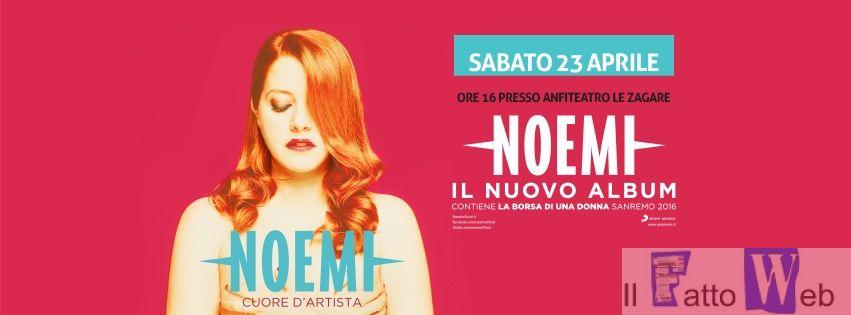 """Noemi al parco Commerciale """"Le Zagare"""" di San Giovanni La Punta"""