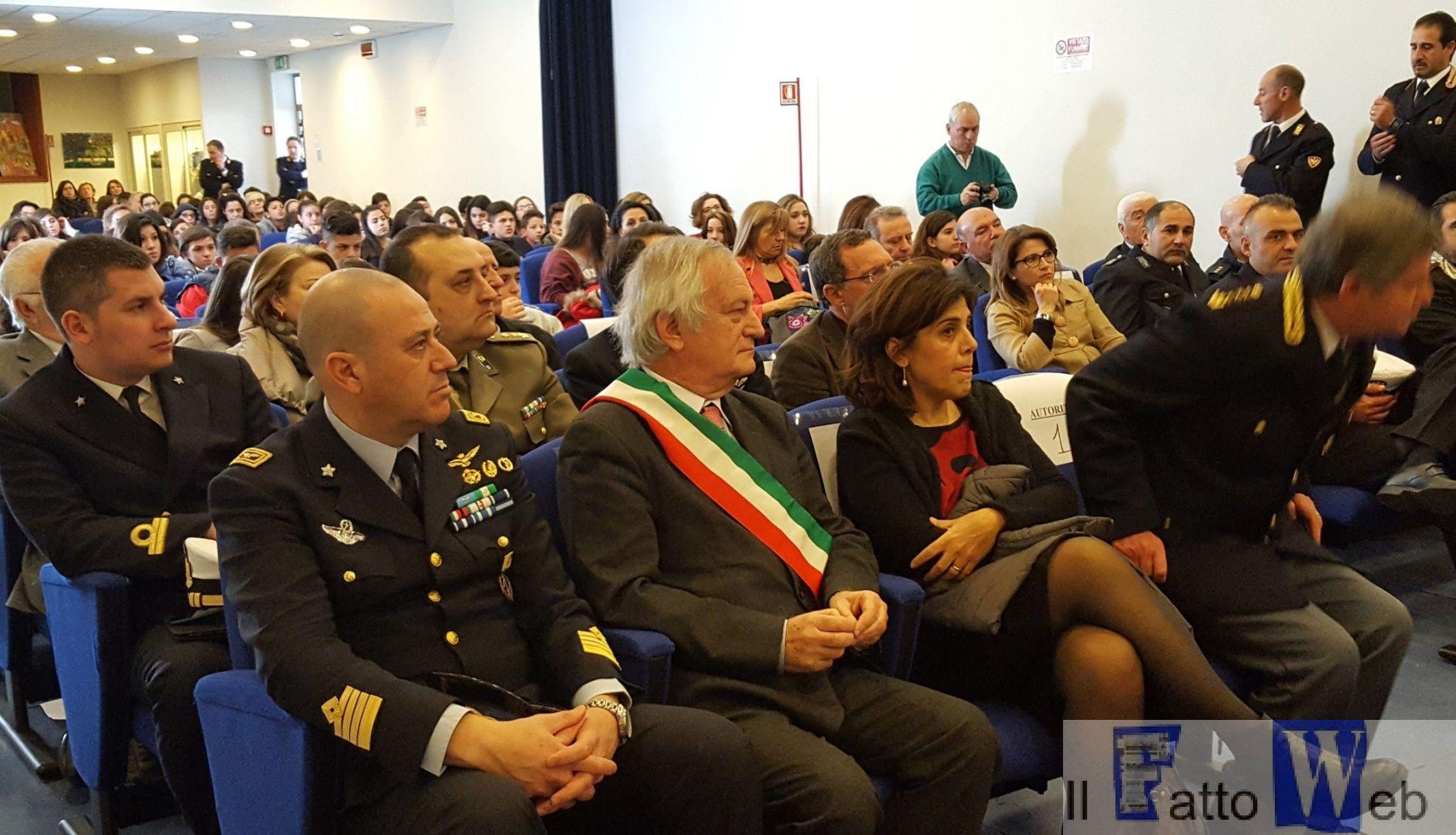 """L'Aeronautica Militare aderisce al Progetto """"Sport e Legalità"""" di Catania"""