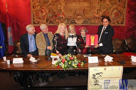 "Premio internazionale ""Virdimura"" contro i  razzismi,  l'antisemitismo  ed  i  femminicidi"