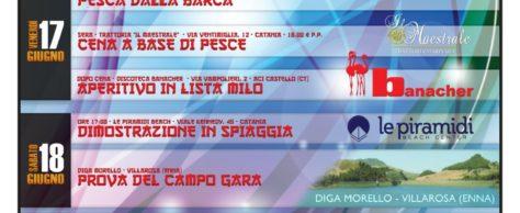 """17-18-19 GIUGNO 2016 PRENDE IL VIA LA 4° EDIZIONE  """"MILO DAY SICILY"""", CAMPIONI A CONFRONTO"""