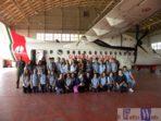 Catania : la Scuola Media Statale M. Pluchinotta di Sant'Agata Li Battiati in visita alla Guardia Costiera