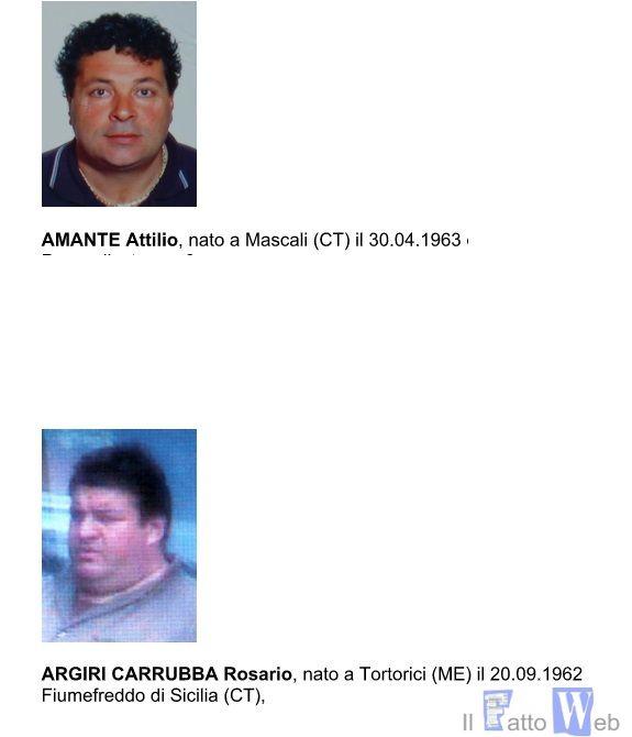 GUARDIA DI FINANZA, CATANIA: MAFIA: ARRESTATI 2 ESPONENTI DEL  CLAN BRUNETTO.